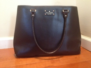 my classic black purse